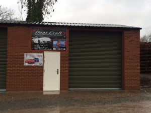 Dent Craft have a dedicated training site in Redditch, with close links to the M42